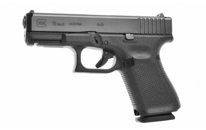 Glock 19 5 Gen kal 9x19 mm para