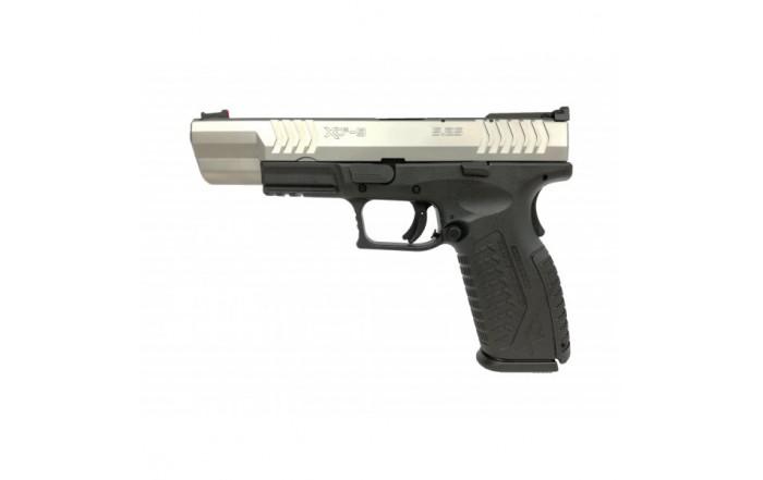 "Pistolet XDM-9 5,25"" Srebrno-Czarny"