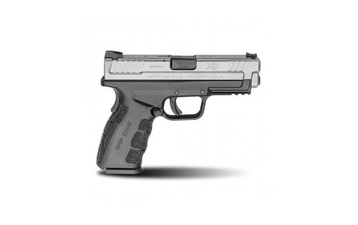 "Pistolet XD-9 MOD.2 4"" Srebrno - Czarny"