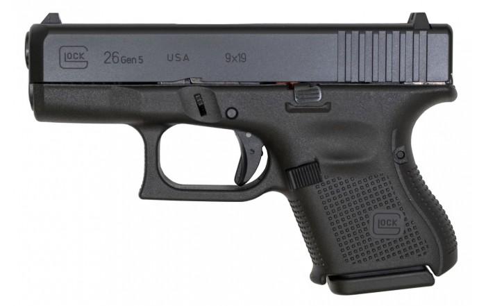 Glock 26 Gen 5 kal 9x19